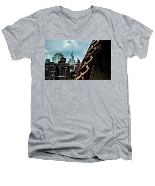 Connector Men's V-Neck T-Shirt