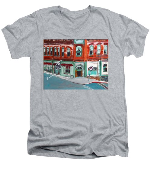 Connor Hotel In Jerome Men's V-Neck T-Shirt