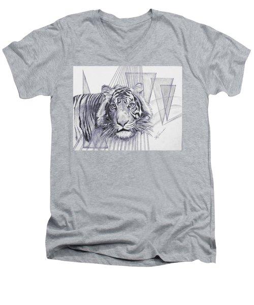 Conquest Men's V-Neck T-Shirt