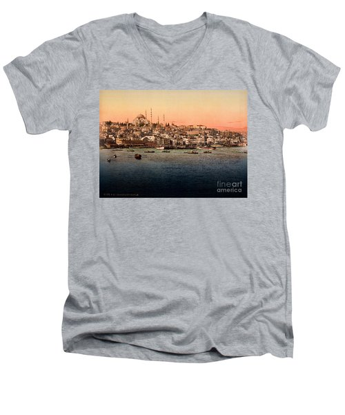 Constantinople Men's V-Neck T-Shirt