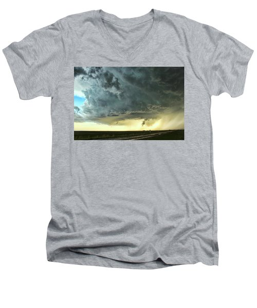 Men's V-Neck T-Shirt featuring the photograph Consul Beast by Ryan Crouse