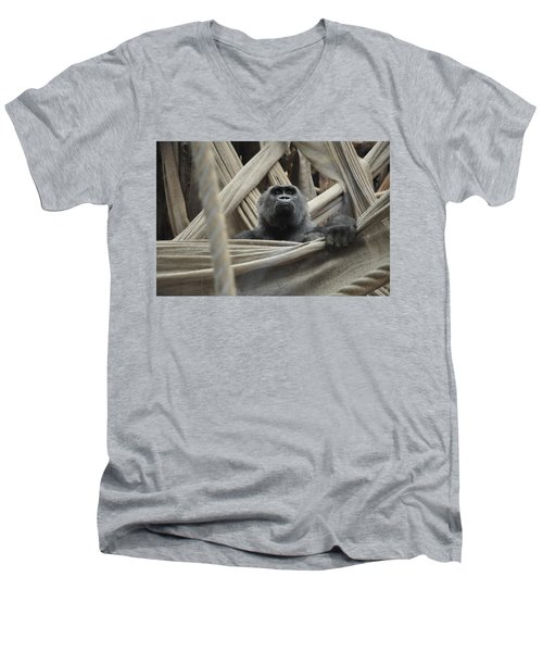 Contemplate Men's V-Neck T-Shirt