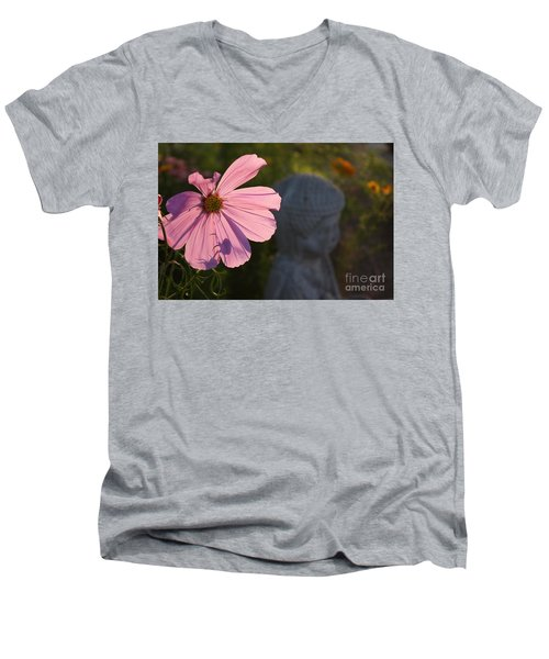 Men's V-Neck T-Shirt featuring the photograph Contemplating The Cosmo by Brian Boyle