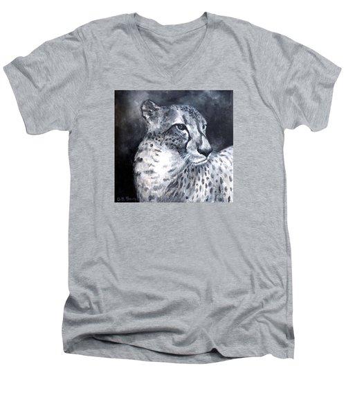 Contemplation Men's V-Neck T-Shirt