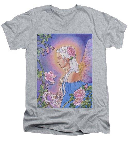 Contemplation Of Beauty Men's V-Neck T-Shirt