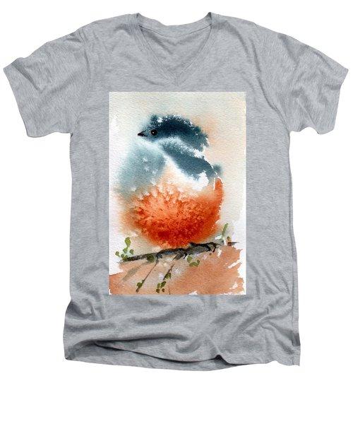 Contemplative  Men's V-Neck T-Shirt