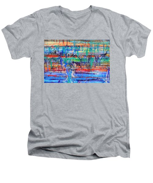 Convection Diffusion Men's V-Neck T-Shirt