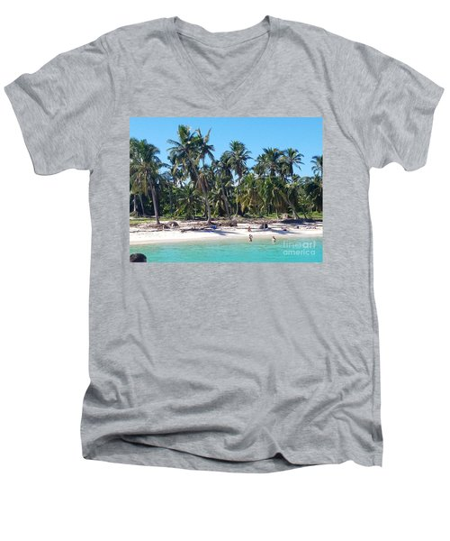 Cool Breeze Men's V-Neck T-Shirt