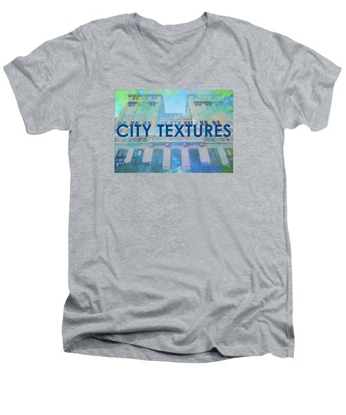 Cool City Textures Men's V-Neck T-Shirt
