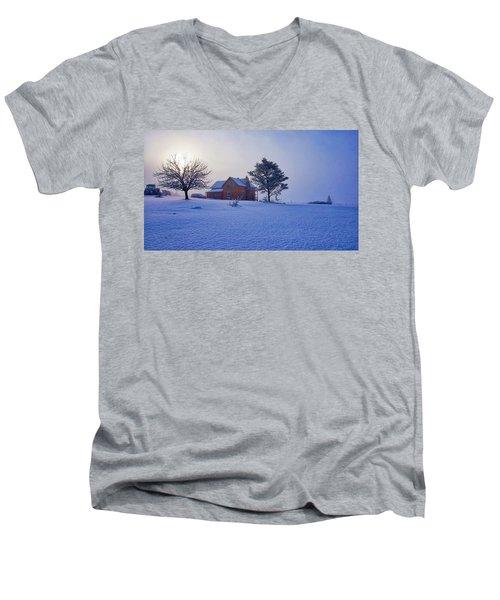 Cool Farm Men's V-Neck T-Shirt