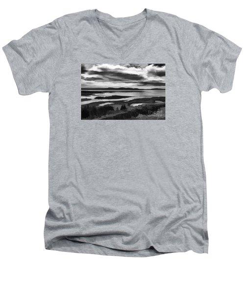 Cool Lakes Iceland Men's V-Neck T-Shirt