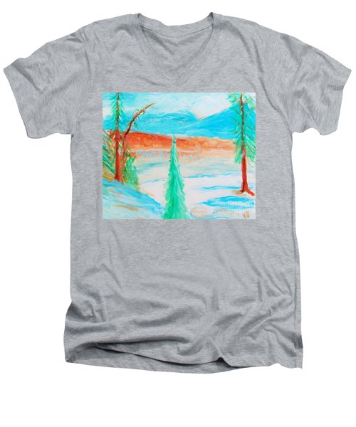 Cool Landscape Men's V-Neck T-Shirt