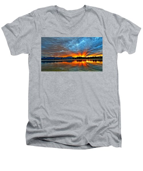 Cool Nightfall Men's V-Neck T-Shirt