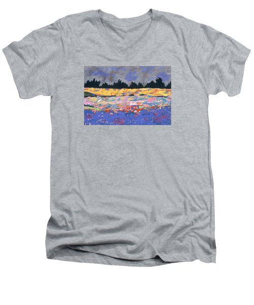 cooney sunset I Men's V-Neck T-Shirt