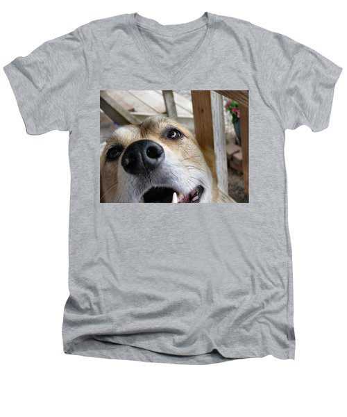 Coookiesss? Men's V-Neck T-Shirt