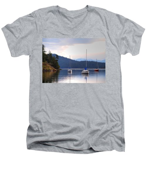 Cooper's Cove 1 Men's V-Neck T-Shirt