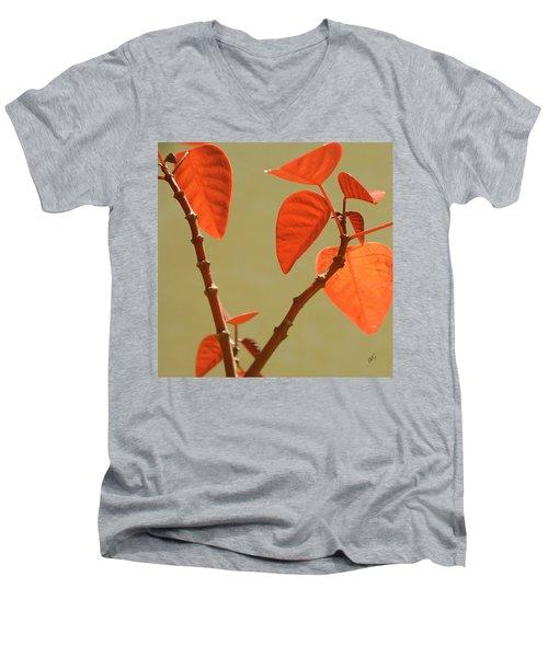 Copper Plant Men's V-Neck T-Shirt