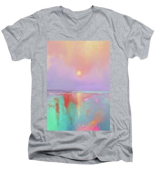 Coral Shores Men's V-Neck T-Shirt