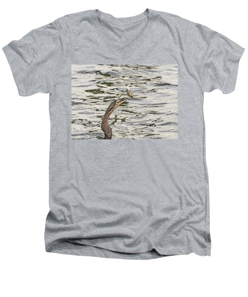 The Catch Men's V-Neck T-Shirt