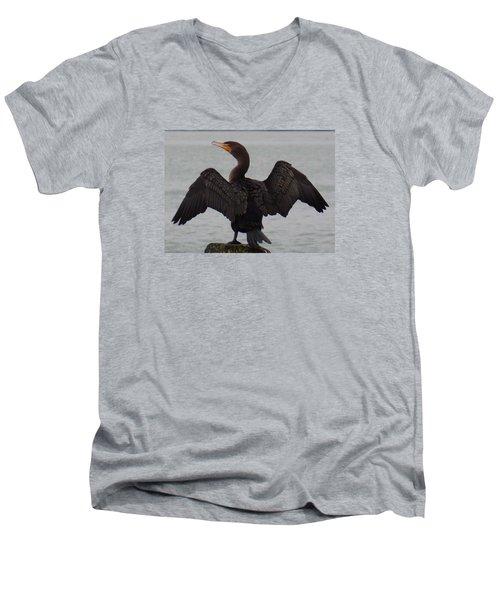 Cormorant In Bellingham Men's V-Neck T-Shirt