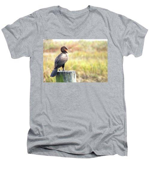 Cormorant Men's V-Neck T-Shirt
