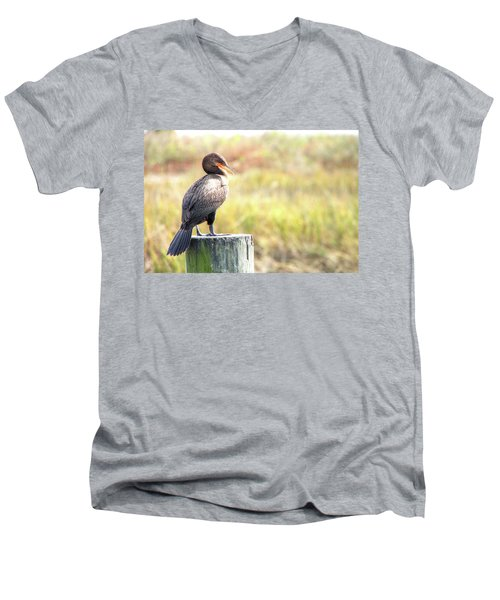 Cormorant Men's V-Neck T-Shirt