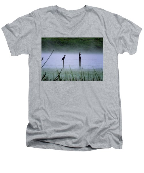 Cormorants Men's V-Neck T-Shirt