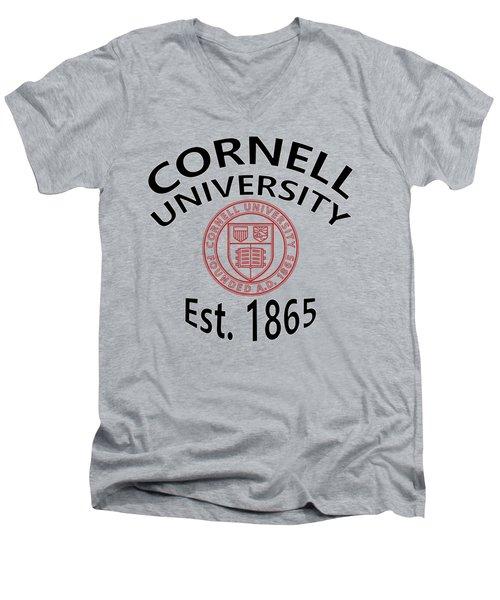 Cornell University Est 1865 Men's V-Neck T-Shirt