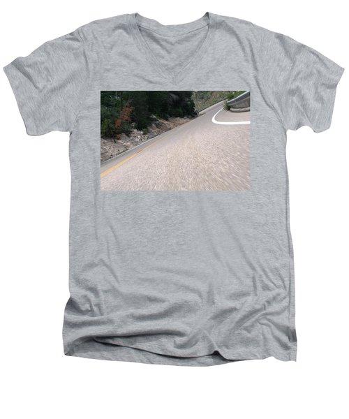 Corner To Corner Men's V-Neck T-Shirt