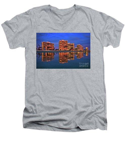 Coronado Glass Men's V-Neck T-Shirt