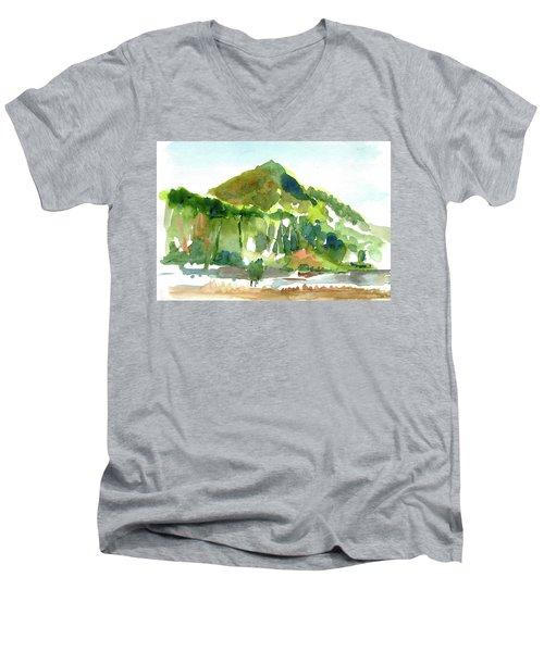 Corte Madera Creek Men's V-Neck T-Shirt by Tom Simmons