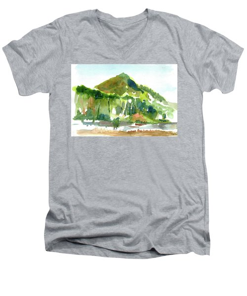 Corte Madera Creek Men's V-Neck T-Shirt