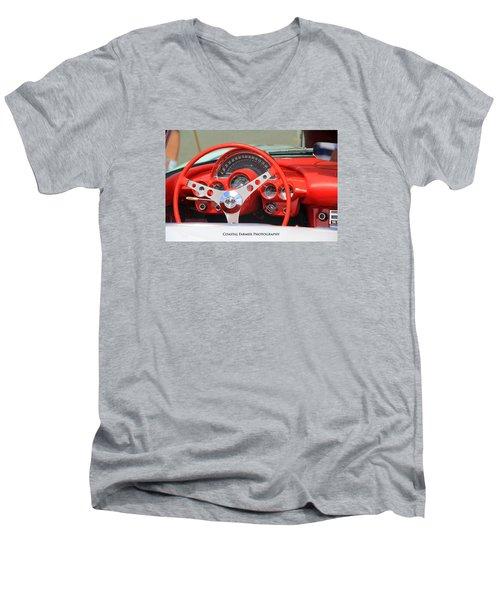 Corvette Men's V-Neck T-Shirt