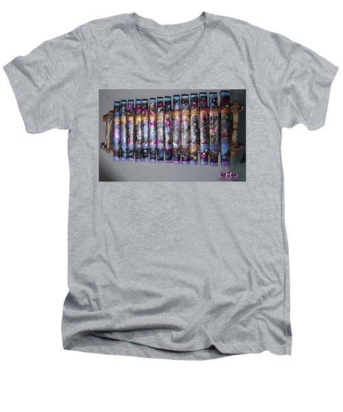 Cosmic Music Men's V-Neck T-Shirt