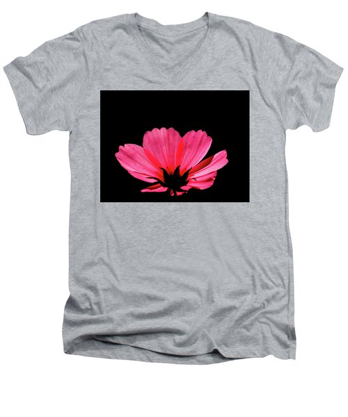 Cosmos Bloom Men's V-Neck T-Shirt