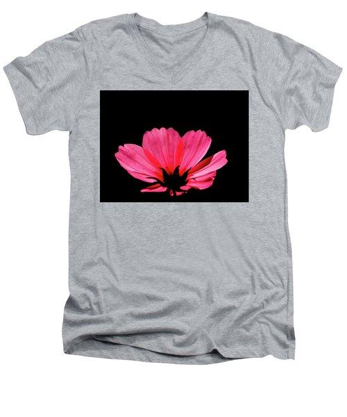 Cosmos Bloom Men's V-Neck T-Shirt
