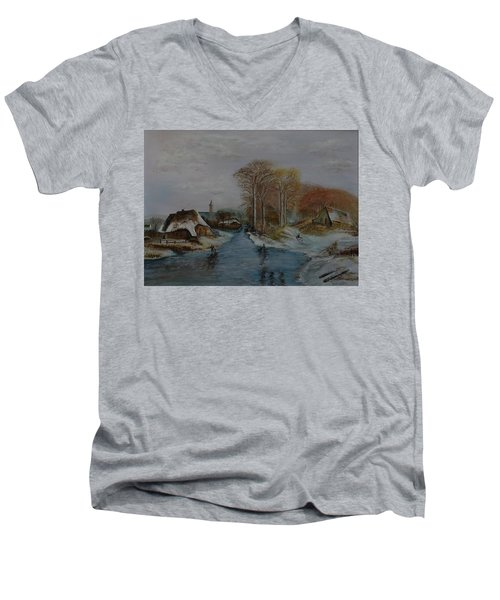 Cottage Country - Lmj Men's V-Neck T-Shirt