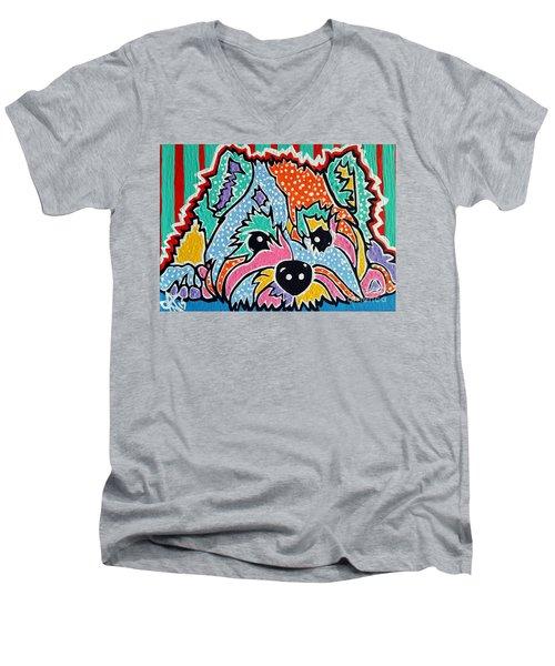 Cotton Candy Men's V-Neck T-Shirt