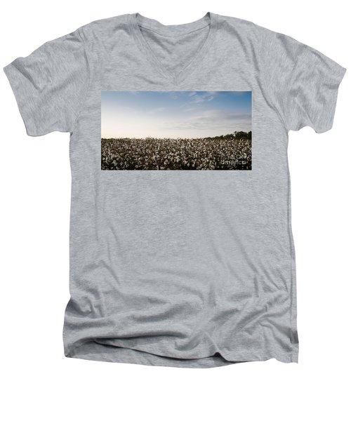 Cotton Field 2 Men's V-Neck T-Shirt