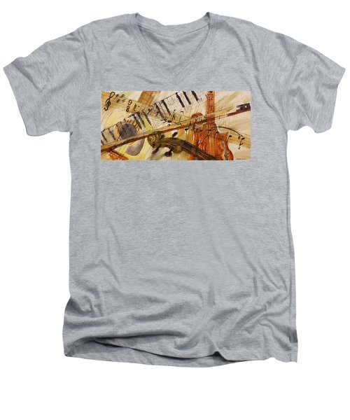 Cotton Pickin' Blues Men's V-Neck T-Shirt