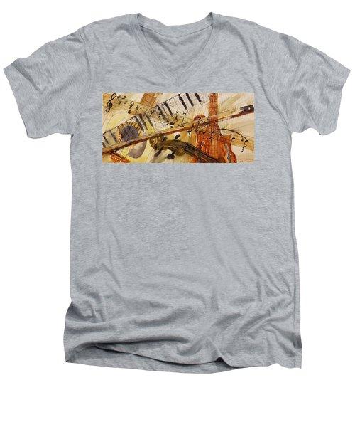 Cotton Pickin' Blues Men's V-Neck T-Shirt