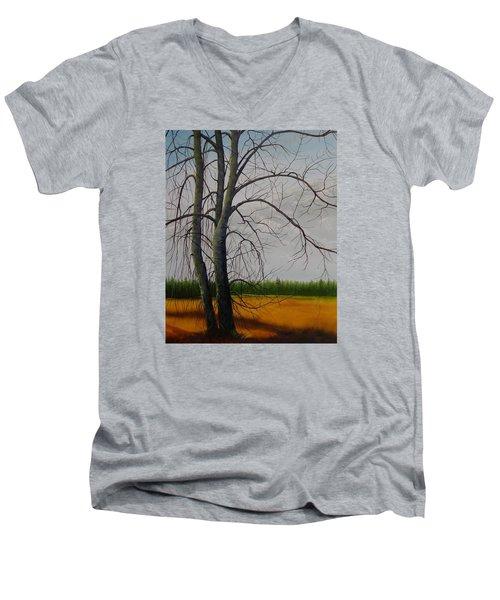 Cottonwoods Men's V-Neck T-Shirt