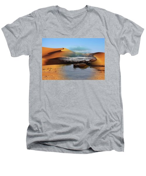 Could This Really Happen? Men's V-Neck T-Shirt