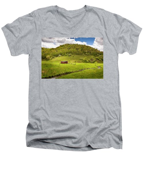 Coulee Morning Men's V-Neck T-Shirt