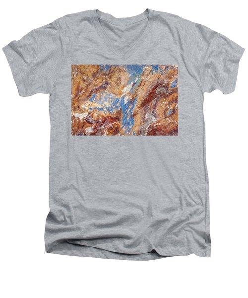 Couleurs De Cuivre I Men's V-Neck T-Shirt by Karen Stephenson
