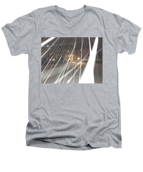 Coulter Snow  Men's V-Neck T-Shirt