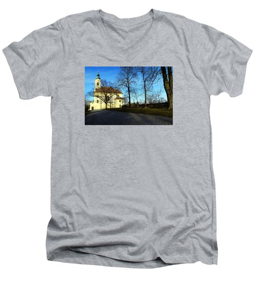 Country Church Men's V-Neck T-Shirt