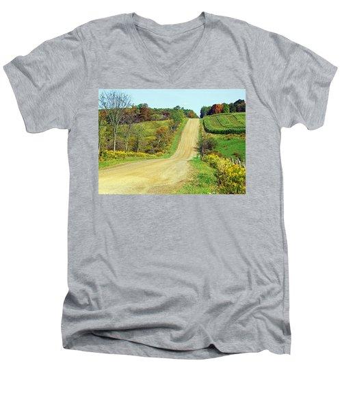 Country Days Men's V-Neck T-Shirt