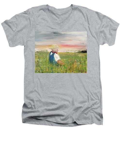 Country Dreams Men's V-Neck T-Shirt