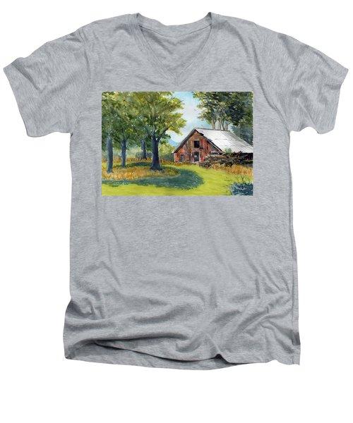 Country Framework Men's V-Neck T-Shirt